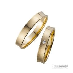 Trauringe Eheringe Gold Gelbgold - HR020