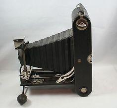 Vintage Eastman Kodak No. 3A Autographic Folding Camera w Instruction Booklet