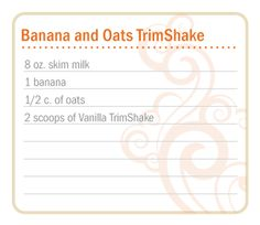 doterra slim and sassy trim shake banana and oats trimshake. I use homemade almond milk made with real vanilla extract :) Cooking With Essential Oils, Doterra Essential Oils, Doterra Slim And Sassy, Oils For Life, Doterra Recipes, Protein Shake Recipes, Doterra Oils, Banana Oats, Beverages
