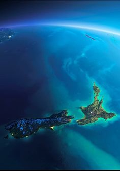 New Zealand from space