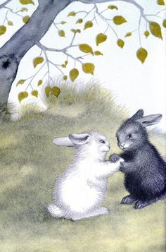from The Rabbits' Wedding by Garth Williams, Harper & Row, 1958