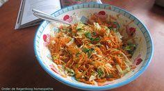 Recept frisse wortelsalade van winterwortels