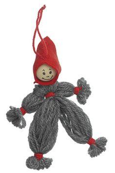 Viklet kravlenisse Diy Tassel, Christmas Crafts, Christmas Ornaments, Yule, Easy Crafts, Journal, Dolls, Holiday Decor, Creative