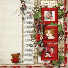 """""""New memories"""" template by WendyP designs; kit is """"out of Time"""" by Mel Designs"""