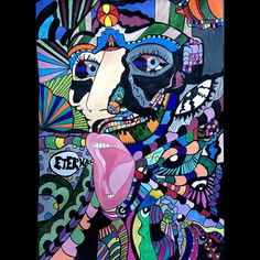 #psihedelic #art #painting