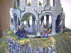 Ruined Tower Building Instructions