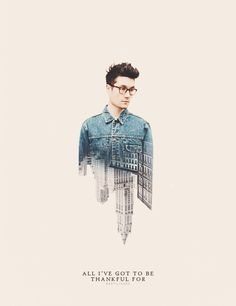 awesome drawing of Dan Smith