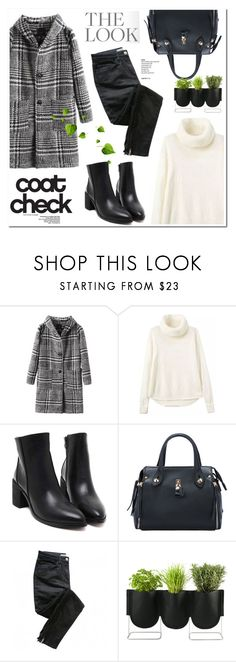 """""""Get the Look: Cool Coats"""" by helenevlacho ❤ liked on Polyvore featuring Sandro, Authentics, GetTheLook, contestentry and coolcoat"""