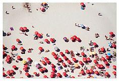Rio de Janeiro Red Umbrellas