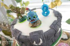 Skylander cake #videogames #skylander #boysparties