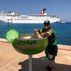 Margaritaville...Cozumel Mexico!  #CozumelMexico #HavingFun #EnjoyingTheMusic #Relaxing #Margaritas Cozumel Mexico Cruise, Mexico Vacation, Cancun, Carnival Dream Ship, Costa Maya Mexico, Visit Jamaica, Travel 2017, Cruise Port, Caribbean Cruise