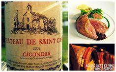 Accord mets et vins : Chartreuse de pigeon X  Gigondas Château de Saint Cosme 2007