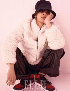 G-Dragon  = Elle