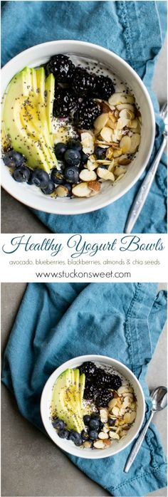 Healthy Yogurt Bowls