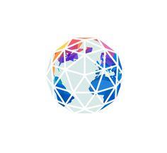 geometric globe