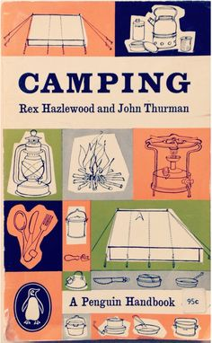 Camping by Rex Haxlewood and John Thurman – Penguin book cover