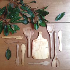 beautiful hand-carved timber-ware from reclaimed birch  /  made with love in melbourne