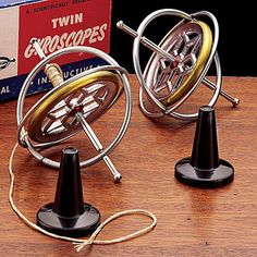 Table Top Gyroscope A nostalgic toy from childhood