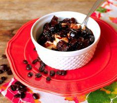 Greek Yogurt with Coffee Fig Compote - Foodtastic Mom