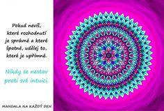 Mandala Udělej správné rozhodnutí Karma, Coaching, Self, Tapestry, Words, Training, Hanging Tapestry, Tapestries, Needlepoint