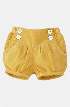 Mini Boden 'Baby' Cord Bloomers (Infant) available at #Nordstrom