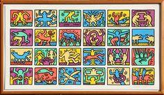 Sabor da Letra: Dica de Exposição - Keith Haring - Caixa Cultural - RJ