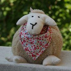 free pattern, sheep, kostenloses schnittmuster, schaf