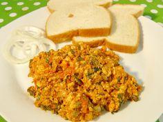 Top 8 healthy indian breakfast recipes - The Zippy Chef North Indian Recipes, Indian Food Recipes, Ethnic Recipes, Bhurji Recipe, Paneer Dishes, How To Make Paneer, Spicy Dishes, Paneer Recipes, Indian Breakfast