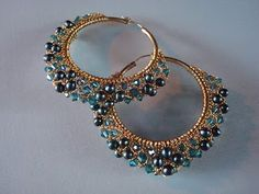 Crochet Jewelry with colored copper wire. | How to Create Jewelry - Mount Jewelry: How to Make and Sell, Step by Step, Ideas ...