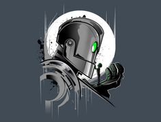 My Giant Friend T-Shirt - Iron Giant T-Shirt is $11 today at TeeFury!