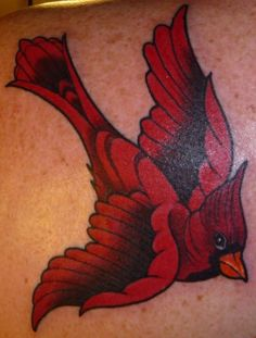 Cardinal tattoo. This may be it!!