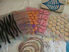 Hannie's- Quilts en Art-Textiel Welkom op mijn blog: surface technieken