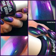NEWMega Multichrome Envy MultiColor Shifting by PolishMeSilly
