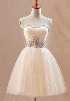 Apricot Prom Dress.; Very cute