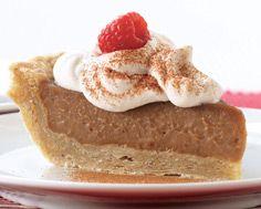 Gingerbread Cream Pie - I'm pretty sure this is the one that I'm making! Christmas Treats, Christmas Baking, Christmas Recipes, Pie Recipes, Fall Recipes, Dessert Recipes, Desserts, Progressive Dinner, Recipe Details