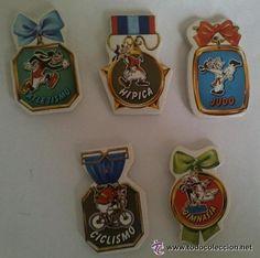 """Pegatinas Goofy Deportista - Pastelito """"Goofy"""" Panrico"""