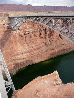 Navajo Bridge, Colorado River