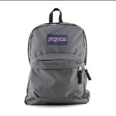 Gray jansport backpack Minor wear • super comfortable • no tears • price firm Jansport Accessories