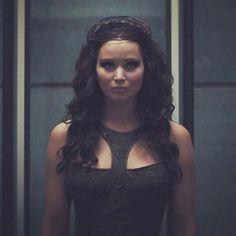 Katniss in tribute parade dress
