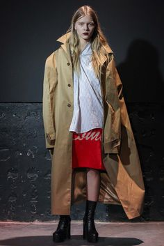 Vetements Fall 2015 Ready-to-Wear Collection Photos - Vogue Live Fashion, Fashion Week, Fashion Show, Womens Fashion, Fashion Design, Runway Fashion, 2015 Fashion Trends, 2015 Trends, Fashion Brands
