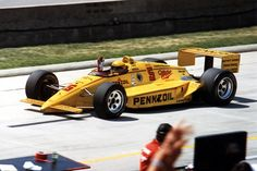 Rick Mears wins Indy 500