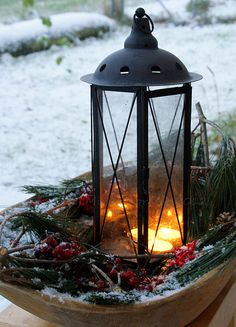DIY Winter Decoration