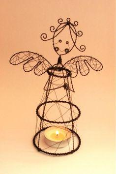 Anjelik - na čajovú sviečku