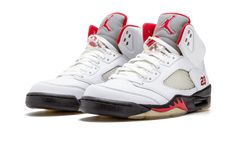 12ce213459e2 Air Jordan 5 Fire Red CDP 136027-163 - Sneaker Bar Detroit Sneaker Bar