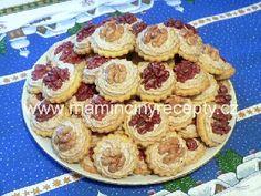 Myslivecké knoflíky Christmas Baking, Food And Drink, Pie, Cooking, Torte, Kitchen, Cuisine, Fruit Tarts, Koken