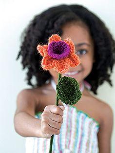 daffodil crochet free pattern