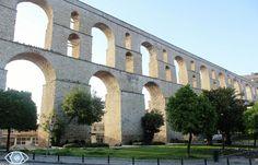 Roman Aquaduct, Kavala, Greece Brooklyn Bridge, Countryside, Islands, Roman, Greece, Places, Travel, Beauty, Beautiful