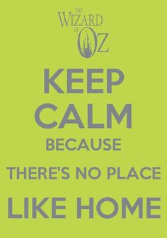 Fan Art of Keep Calm and. for fans of The Wizard of Oz 30577872 Keep Calm Posters, Keep Calm Quotes, Wizard Of Oz Movie, Land Of Oz, Quotes About Everything, Yellow Brick Road, Somewhere Over, Tips & Tricks, Motivational Posters