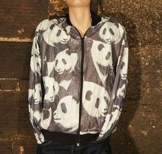 Awesome Vintage Panda Jacket by Pride Products Inc. Size XL