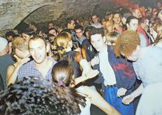 The arches heaving with ravers in the earlu 90s. Photo: Wayne Youngman